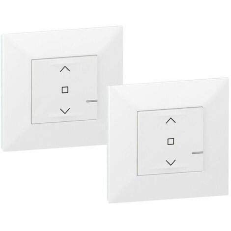 Pack preconfigurados persiana centralizada Legrand 741826 serie Valena Next with Netatmo color Blanco