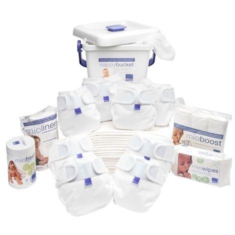 Pack Premium couches lavables Miosoft Blanc