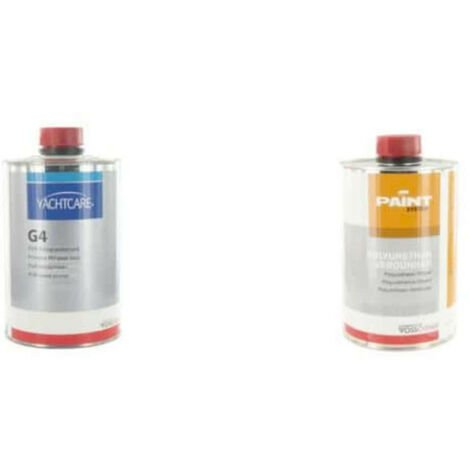 Pack primer varnish G4 Yachtcare 1L - Thinner for varnish G4 Vosschemie