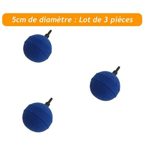 Pack PROMO 3 X Diffuseurs d'air ( boule ) sphèrique pour aérer les bassins de jardin : 5 cm