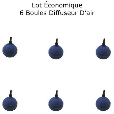 Pack PROMO 6 Diffuseurs D'air, Forme De Boule, Pour Aérer Les Bassins De Jardin : 5 cm