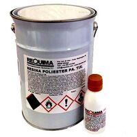 Pack Resina de Poliester 5kg + catalizador 100grs