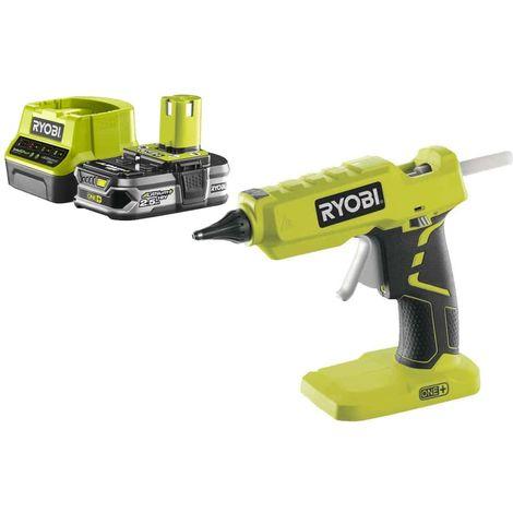 Pack RYOBI Glue gun 18V OnePlus R18GLU-0 - 1 Battery 2.5Ah - 1 Quick charger RC18120-125