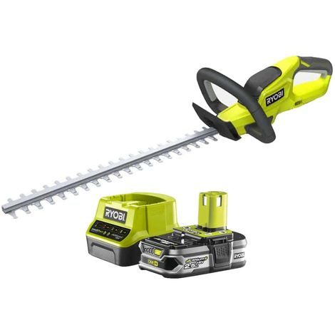 Pack RYOBI Hedge Trimmer 18V OnePlus OHT1845 - 1 Battery 2.5Ah - 1 Fast Charger RC18120-125