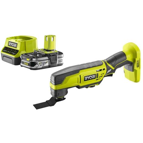 Pack RYOBI Multitool 18V OnePlus R18MT3-0 - 1 Battery 2.5Ah - 1 Rapid Charger RC18120-125