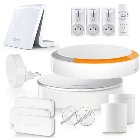 Pack Somfy Protect connecté Tahoma