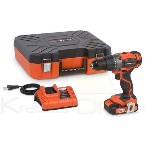Pack taladro/ator.+ Batería 20v +cargador 20v (POWDP1515)