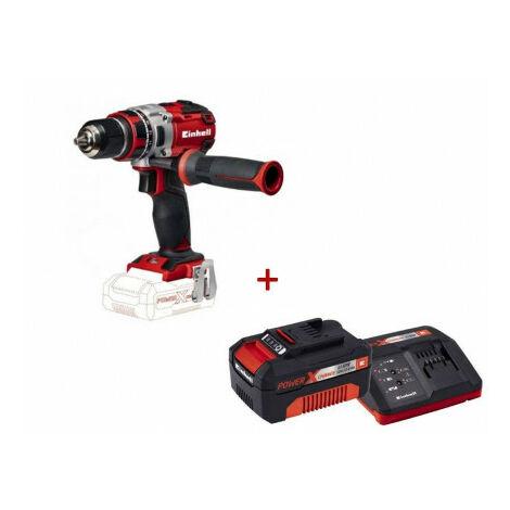 Pack Taladro bateria TE-CD 18 Li- BL Solo + Starter kit 3.0Ah Einhell