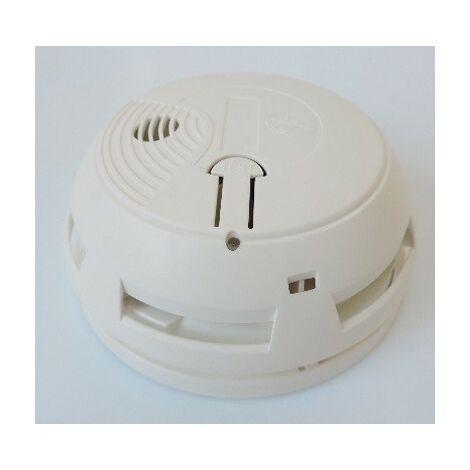 Pack Thermostat Programmable Radio TYBOX 811 + Détecteur de Fumée autonome DELTA DORE 6050528
