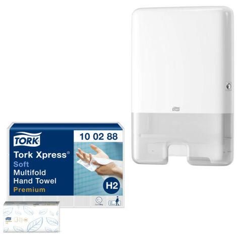 Pack TORK distributeur essuie-mains - Essuie-Mains x21
