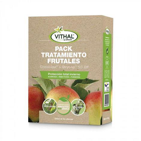 Pack tratamiento frutales VITHAL GARDEN (Fungicida / Bactericida + Aceite Insecticida)