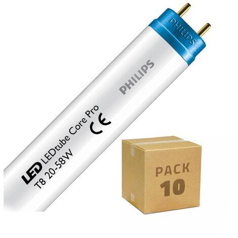 Pack Tubos LED CorePro T8 1500mm Conexión un Lateral 20W 110lm/W (10 un)