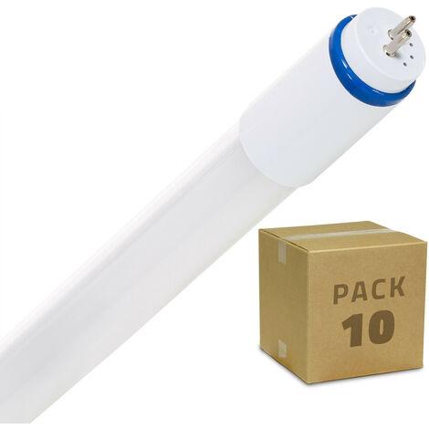 Pack Tubos LED T5 Cristal 550mm Conexión Dos Laterales 9W (10 un)