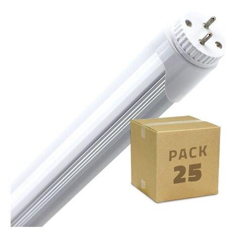 Kit Tubo LED T8 Nano PC 1200mm 18W 130lm//W Regleta Blanco C/álido 2800K-3200K efectoLED