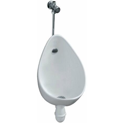 Pack urinoir GEBERIT AUBAGNE 2, prt ˆ poser, alimentation et Žvacuation apparentes, blanc