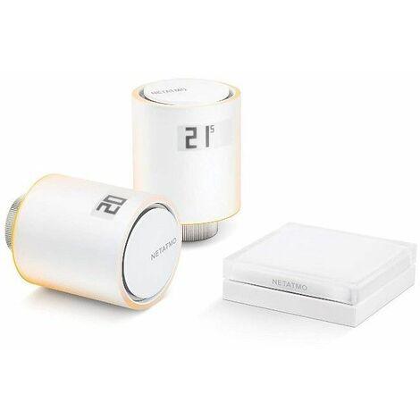 Pack Valvulas wifi inteligente Netatmo NAV-PRO para calefaccion colectiva