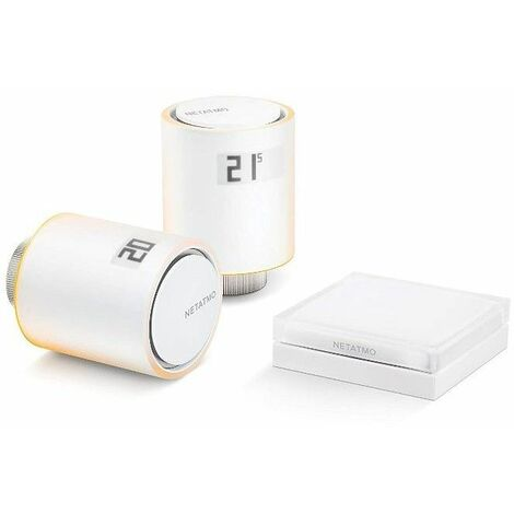 Pack Valvulas wifi inteligente Netatmo NVP-PRO para calefaccion colectiva