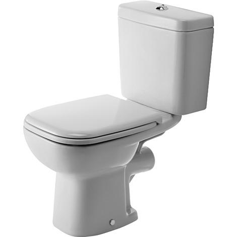 Pack WC 3 en 1 Duravit D-code - sortie horizontale - Blanc