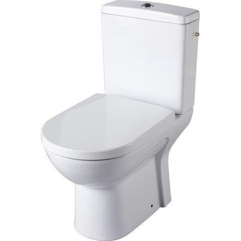 Pack WC à poser avec une cuvette maxi confort Sortie Horizontale