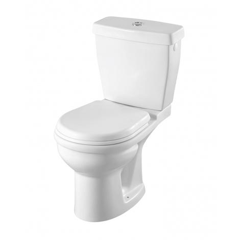 Pack wc à poser gain de place Sortie Horizontale