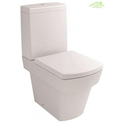 Pack WC à poser LARX avec abattant à frein de chute 36x63x80 cm