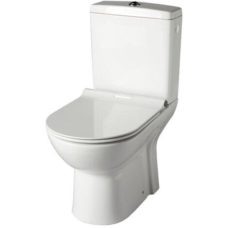 Pack wc à poser sans bride sortie horizontale - FRIENDLY
