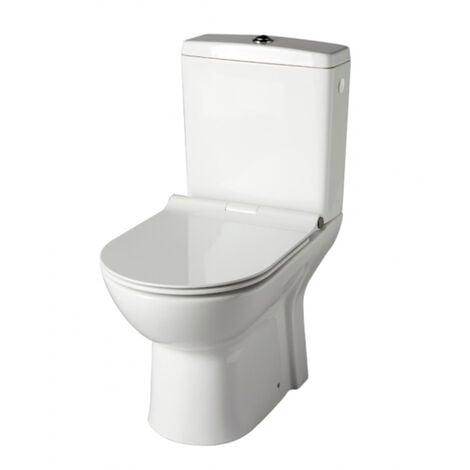 Pack wc à poser sans bride sortie verticale / vario - FRIENDLY