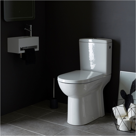 Pack WC a poser sureleve maxi confort sortie horizontale