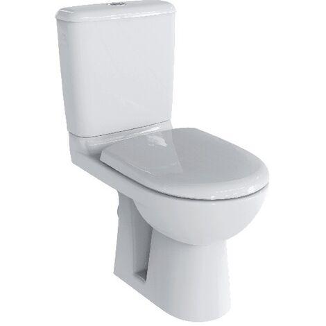 Pack WC Allia Prima 6 Rimfree Blanc avec abattant à fermeture ralentie