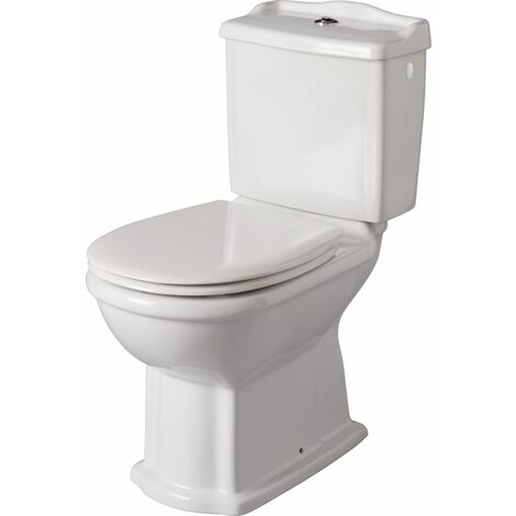 Pack WC ALTERNA cuvette et reservoir Antica sans abattant blanc