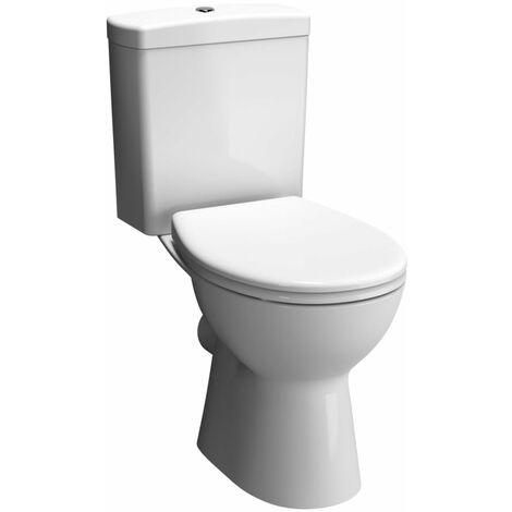 Pack WC ALTERNA VERS'EAU sans bride avec abattant frein de chute, Ref. 9822C003-7200