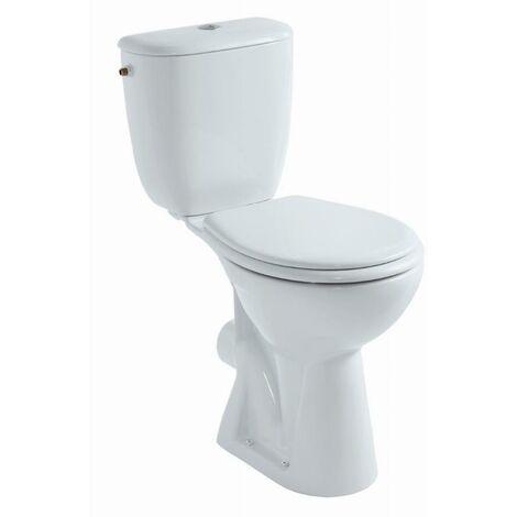 Pack WC au sol GEBERIT Bastia - Surélevé - Sortie horizontale - 08328000000201