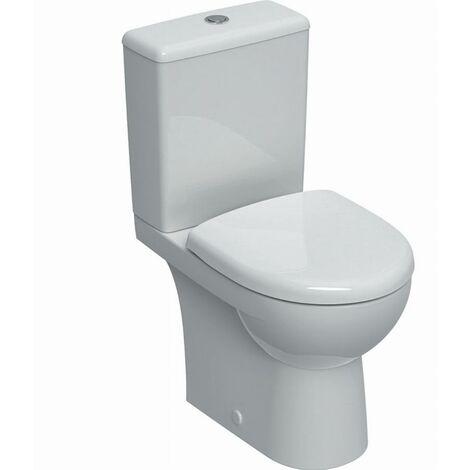 Pack WC au sol Renova compact GEBERIT avec abattant - 501.859.00.1