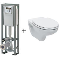 Pack WC bâti-support 4 pieds Ancoflash Anconetti