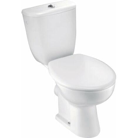Pack WC BRIVE 3 JACOB DELAFON, sortie horizontale, 3 / 5 litres, alimentation laterale, blanc Ref.E0383-00
