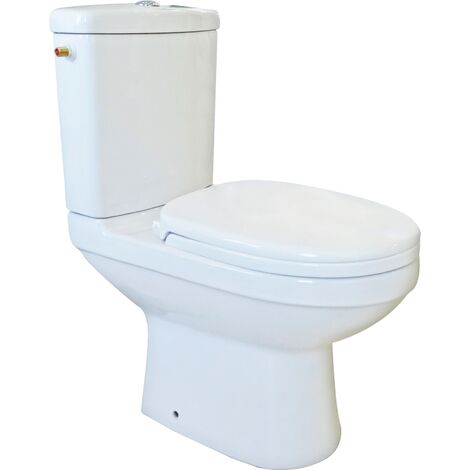 Pack WC CLAIN blanc FAIBLE PROFONDEUR