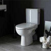 Pack wc gain de place rimless sortie horizontale