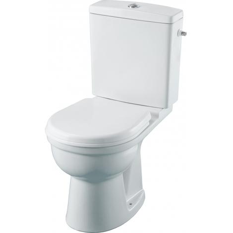 Pack wc gain de place sortie horizontale traitement 'Hygiene +'