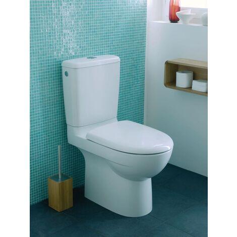 Pack WC GEBERIT PRIMA multi mecanisme general abattant standard blanc Ref. 08324300000201