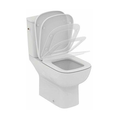 Pack WC Kheops - Porcelaine - 3/6L - Frein de chute