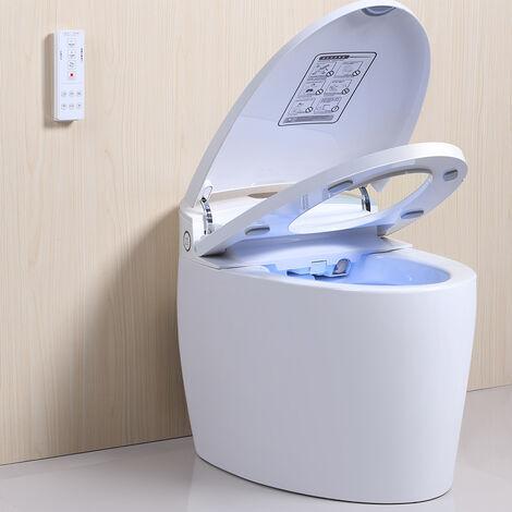 Pack WC lavant japonais Luxe diamond plus avec couvercle automatique