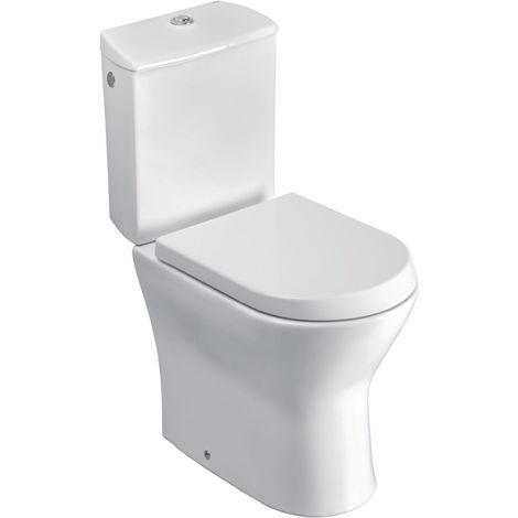 Pack WC N.F. NEXO sortie duale 3/6L alim.latérale-abattant frein chute-Blanc