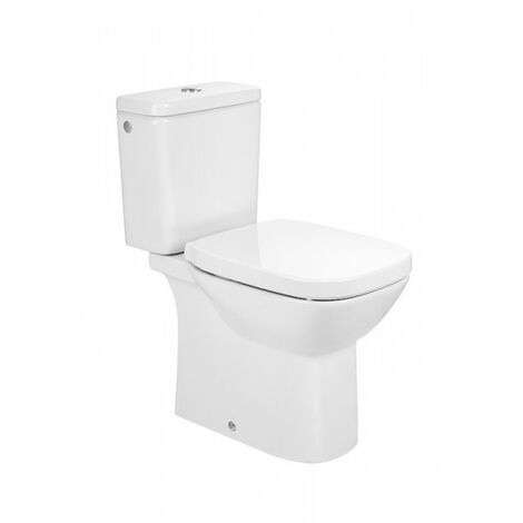 Pack WC N.F.SQUARE S.H. 3/6 ss bride frein chute- Blanc