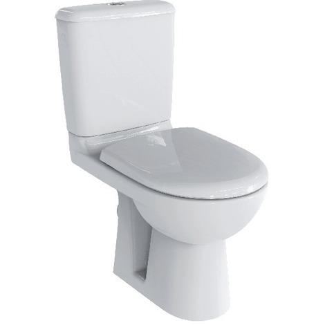 Pack WC Prima 6 Rimfree avec abattant à fermeture ralentie - Blanc