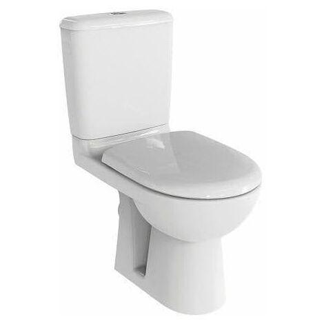 Pack WC PRIMA 6 sortie horizontale avec abattant standard.
