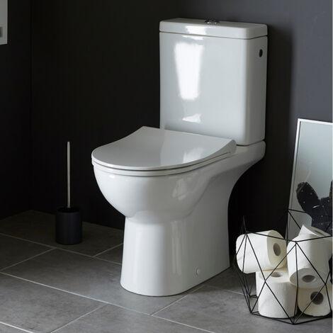 Pack wc rimless Trium sortie verticale