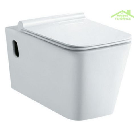 Pack WC supsendu sans bride Rimless NENY 58x36x31 cm