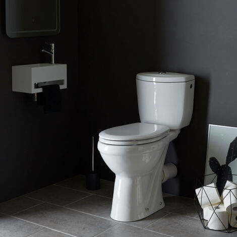 pack wc sur lev avec cuvette anticalcaire sortie. Black Bedroom Furniture Sets. Home Design Ideas