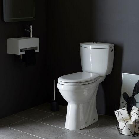Pack wc surélevé Bermude avec sortie verticale blanc