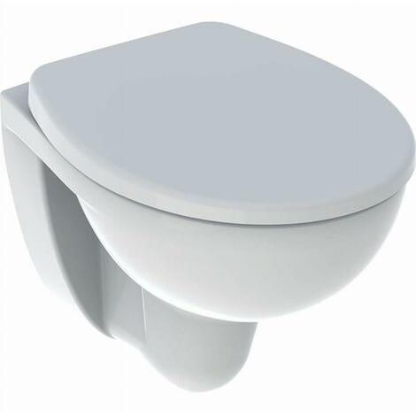 Pack WC suspendu à fond creux Bastia compact Rimfree avec abattant GEBERIT - 501.894.00.1